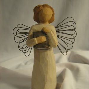 Demdaco Willow Tree ANGEL OF LEARNING Figurine